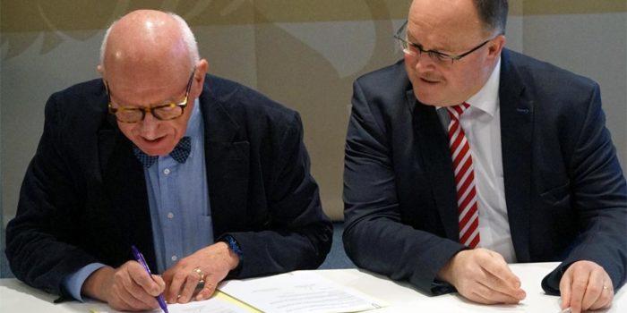 Signature de notre Accord Cadre avec le MAEE